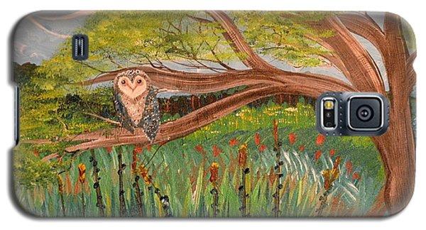 Original Acrylic Artwork By Mimi Stirn - Hoomasters Collection Hoomonet #413 Galaxy S5 Case