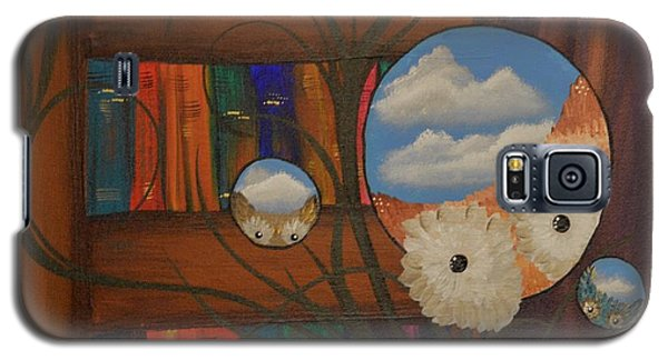 Original Artwork By Mimi Stirn - Hoomasters Collection - Hoo Magritte #411 Galaxy S5 Case