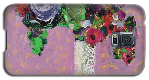 Original Bouquetaday Floral Painting 12x12 On Canvas, By Elaine Elliott, 59.00 Incl. Shipping Galaxy S5 Case