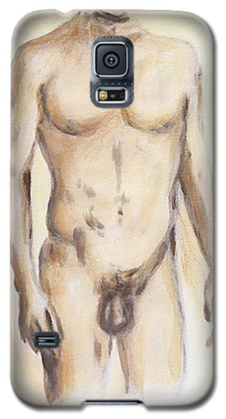 Original Painting Of A Nude Male Torso Galaxy S5 Case