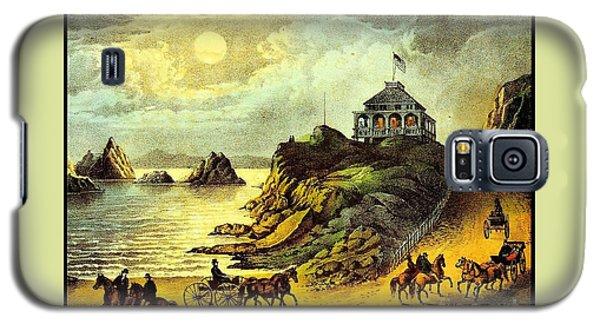 Original San Francisco Cliff House Circa 1865 Galaxy S5 Case