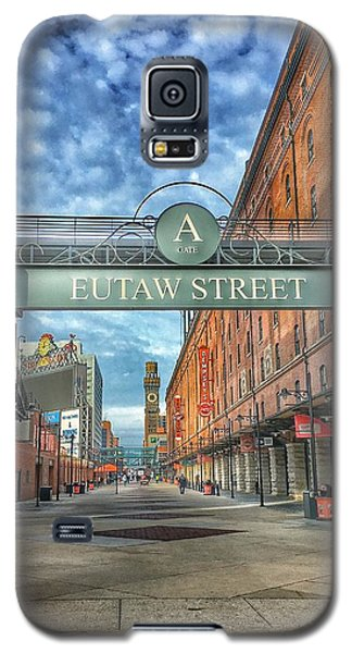 Oriole Park At Camden Yards - Eutaw Street Gate Galaxy S5 Case