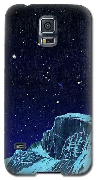 Orion Over Yosemite Galaxy S5 Case