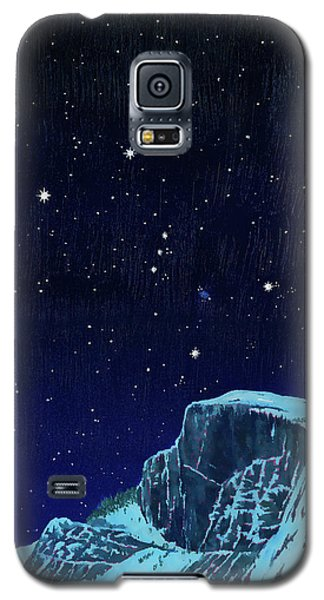 Orion Over Yosemite Galaxy S5 Case