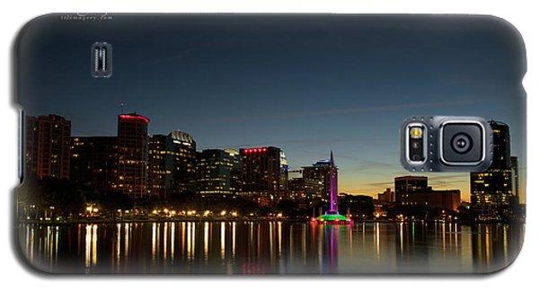 Orlando Beautiful Lake Eola Sunset Galaxy S5 Case