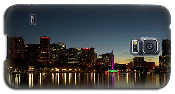 Orlando Beautiful Lake Eola Sunset Galaxy S5 Case