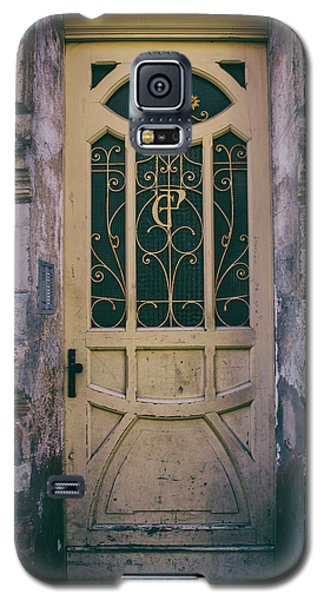 Ornamented Doors In Light Brown Color Galaxy S5 Case by Jaroslaw Blaminsky