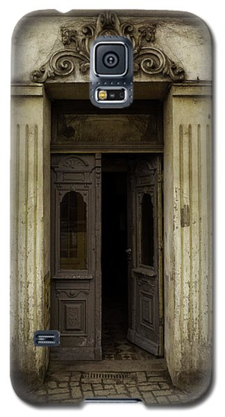 Ornamented Gate In Dark Brown Color Galaxy S5 Case by Jaroslaw Blaminsky