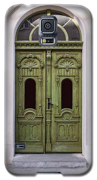 Ornamented Gates In Olive Colors Galaxy S5 Case by Jaroslaw Blaminsky