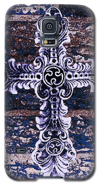 Ornate Cross 2 Galaxy S5 Case by Angelina Vick