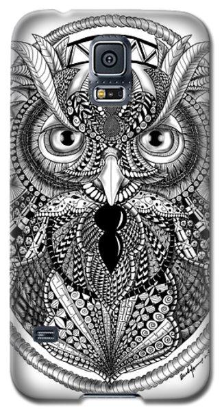Ornate Owl Galaxy S5 Case