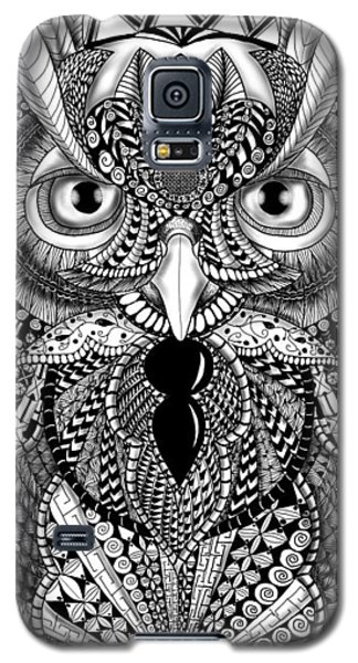 Ornate Owl Galaxy S5 Case