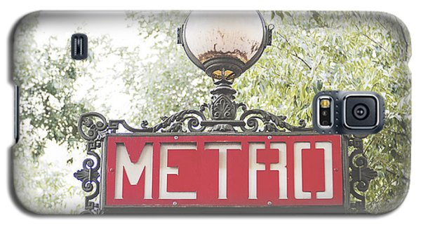 Transportation Galaxy S5 Case - Ornate Paris Metro Sign by Ivy Ho