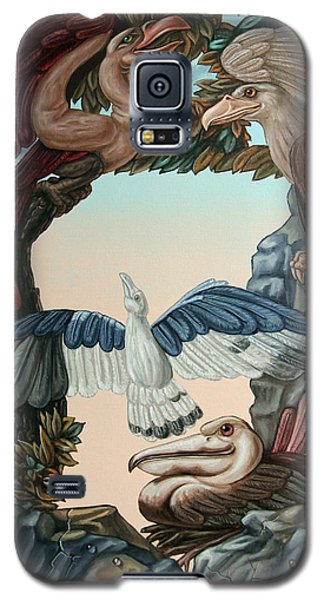 Ornithological Symphony By Ludwig Van Beethove Galaxy S5 Case