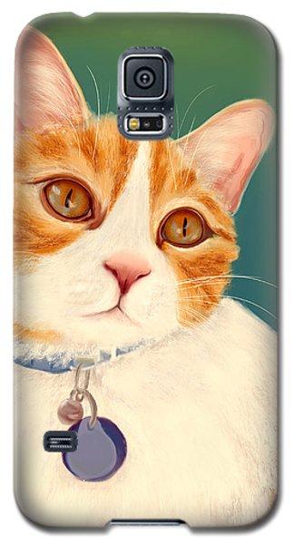 Oscar- Orange Tabby  Galaxy S5 Case