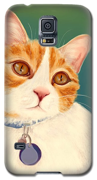 Oscar- Orange Tabby  Galaxy S5 Case