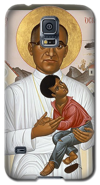 St. Oscar Romero Of El Salvado - Rlosr Galaxy S5 Case