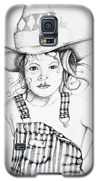 Galaxy S5 Case featuring the drawing Osh Kosh by Mayhem Mediums