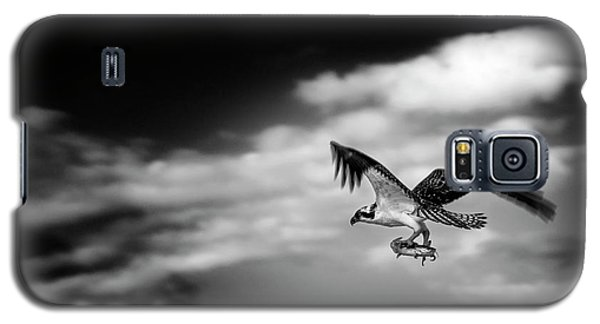 Galaxy S5 Case featuring the photograph Osprey Catch Of The Day by Chrystal Mimbs