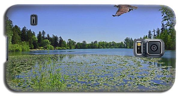Osprey Fishing At Wapato Lake Galaxy S5 Case