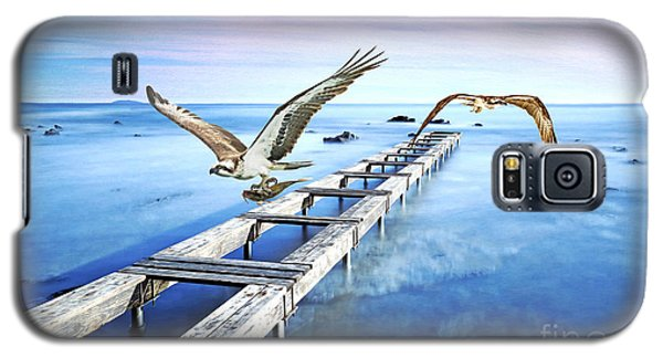 Osprey Galaxy S5 Case - Osprey On The Move by Laura D Young