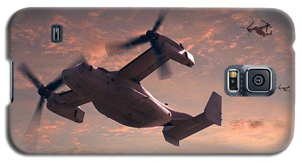 Ospreys In Flight Galaxy S5 Case by Mike McGlothlen