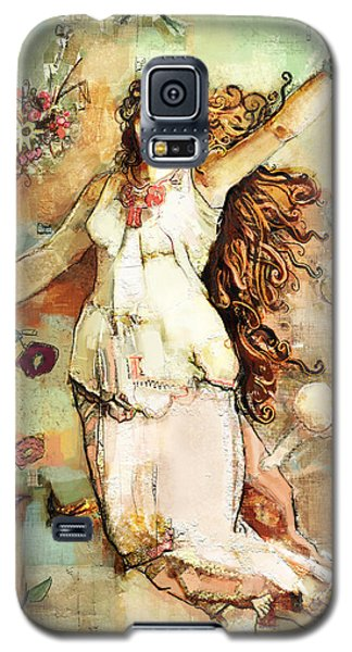 Ostara Galaxy S5 Case by Carrie Joy Byrnes