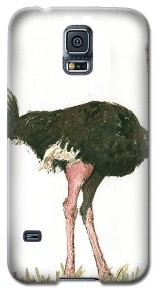 Ostrich Bird Galaxy S5 Case