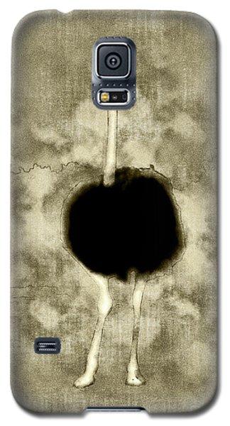 Ostrich Portrait Galaxy S5 Case
