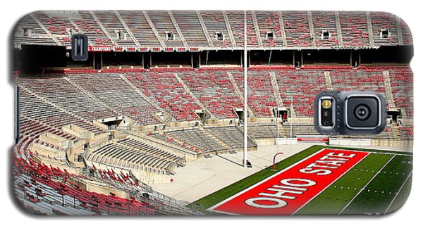 Osu Football Stadium Galaxy S5 Case by Laurel Talabere