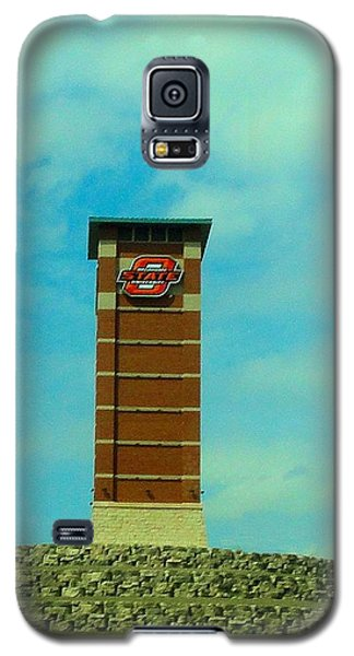Oklahoma State University Gateway To Osu Tulsa Campus Galaxy S5 Case by Janette Boyd
