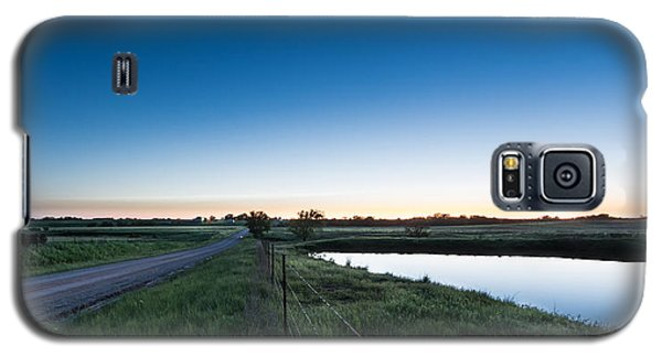 Otoe Plains Sunset Galaxy S5 Case
