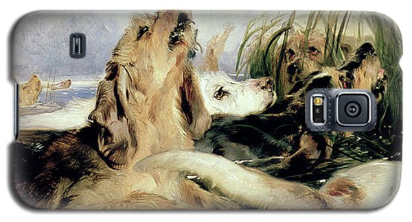 Otter Galaxy S5 Case - Otter Hounds by Sir Edwin Landseer