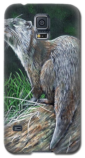 Otter On Branch Galaxy S5 Case