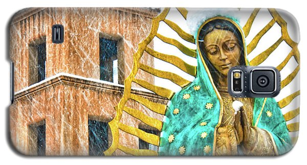 Galaxy S5 Case featuring the photograph Our Lady Of Guadalupe by Britt Runyon