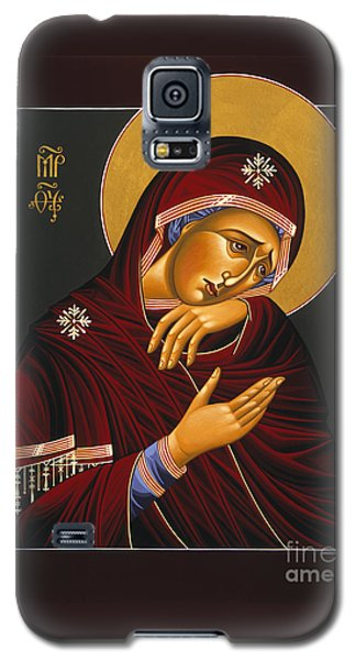 Galaxy S5 Case featuring the painting Our Lady Of Sorrows 028 by William Hart McNichols