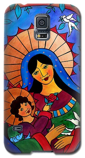 Our Lady Of The Garden Galaxy S5 Case