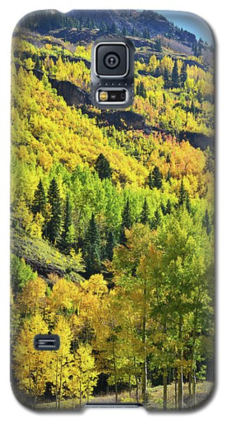 Galaxy S5 Case featuring the photograph Ouray Canyon Switchbacks by Ray Mathis