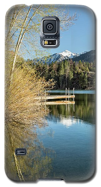 Ouray County Postcard Scene Galaxy S5 Case