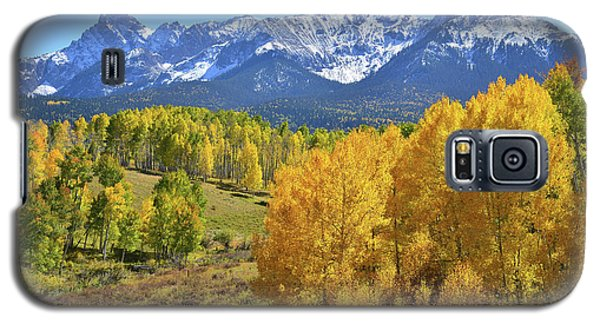 Galaxy S5 Case featuring the photograph Ouray County Road 8  by Ray Mathis