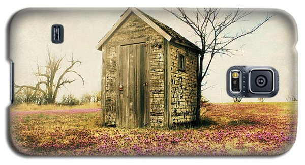 Galaxy S5 Case featuring the photograph Outhouse by Julie Hamilton