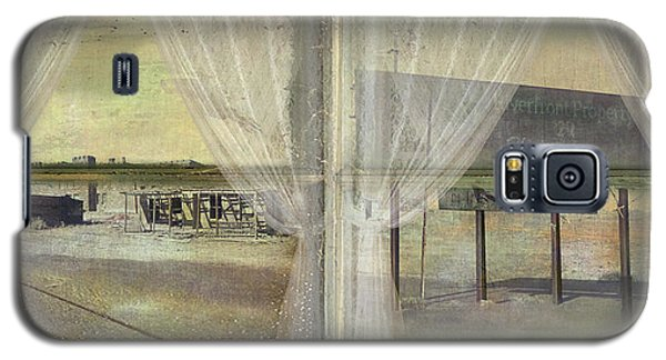 Galaxy S5 Case featuring the photograph Out My Window- Desert Town by Jeff Burgess