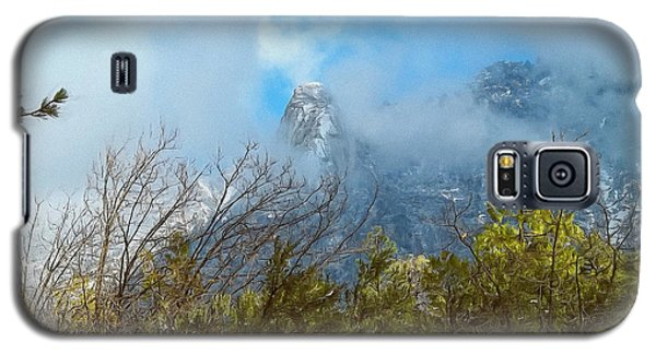Galaxy S5 Case featuring the photograph Out Of The Mist by Glenn McCarthy Art and Photography