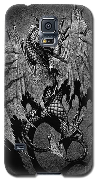 Galaxy S5 Case featuring the digital art Out Of The Shadows by Stanley Morrison