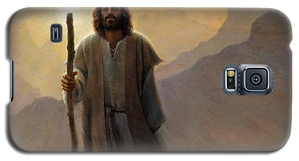 Religious Galaxy S5 Case - Out Of The Wilderness by Greg Olsen
