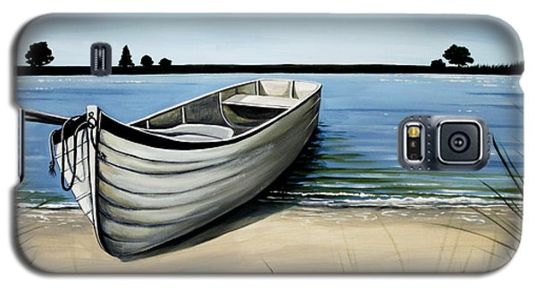 Out On The Water Galaxy S5 Case by Elizabeth Robinette Tyndall