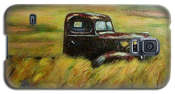 Galaxy S5 Case featuring the painting Out To Pasture by Gail Kirtz