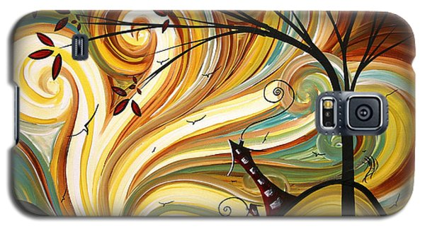 Out West Original Madart Painting Galaxy S5 Case
