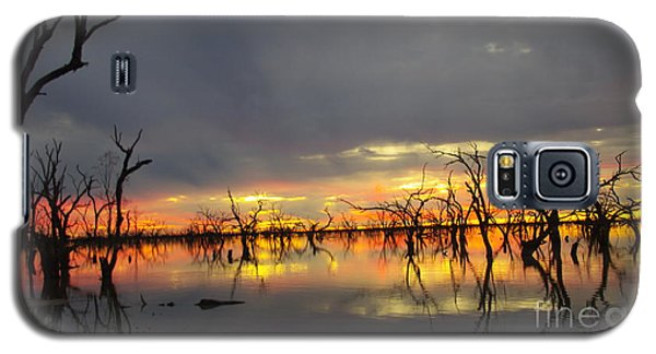 Outback Sunset Galaxy S5 Case by Blair Stuart