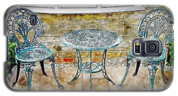 Outdoor Dining Galaxy S5 Case